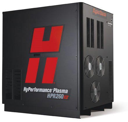 hypertherm HPR260 plasma cutter