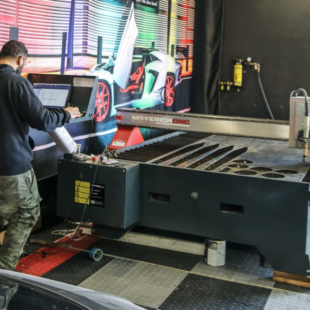 Hot Rod Builders Cutting Tables