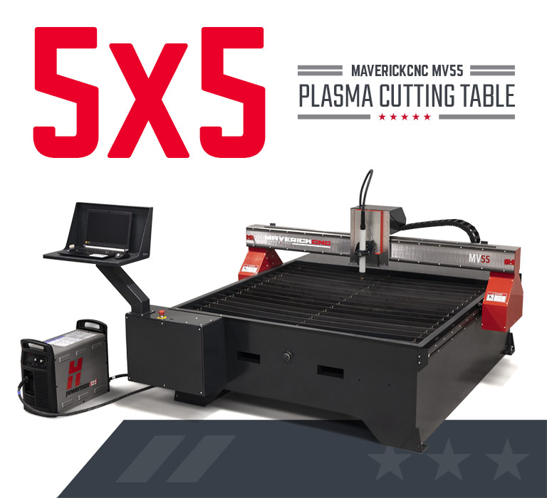 MV 5x5 CNC Plasma Table