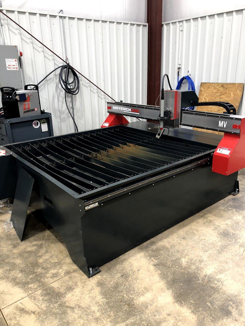 5x5 CNC plasma table