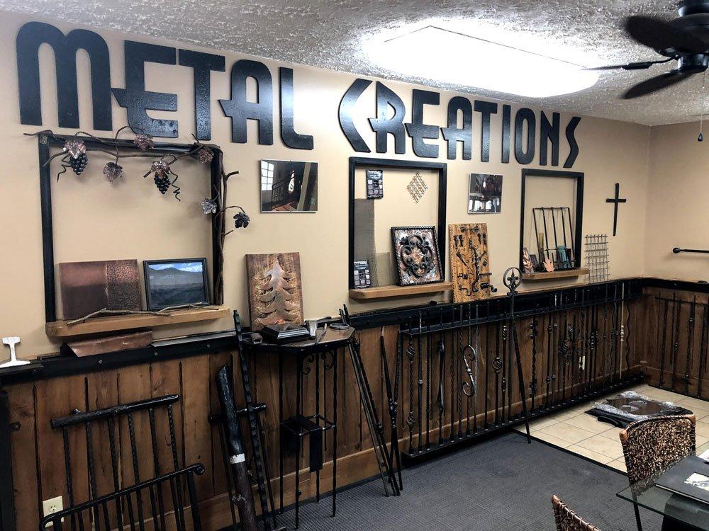 Metal Creations showroom