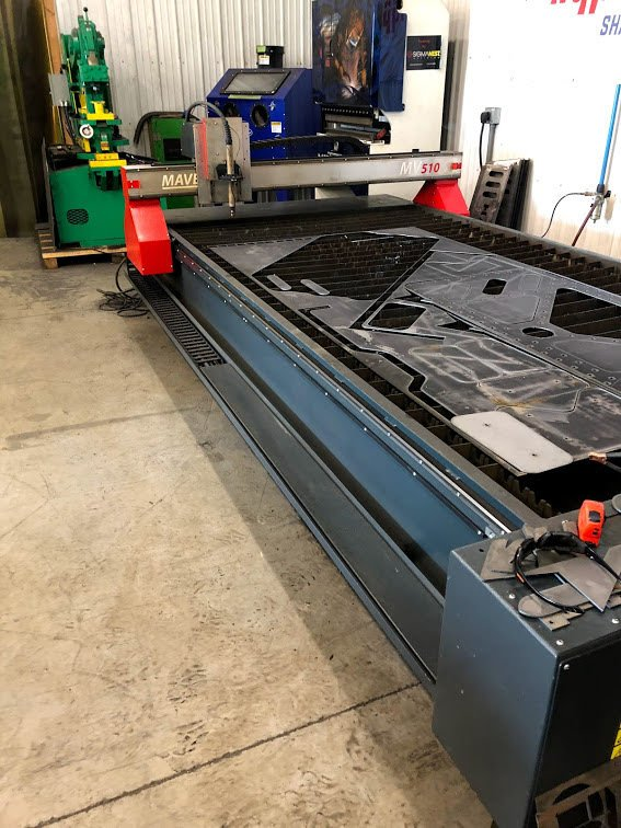 5x10 best steel cutting with plasma