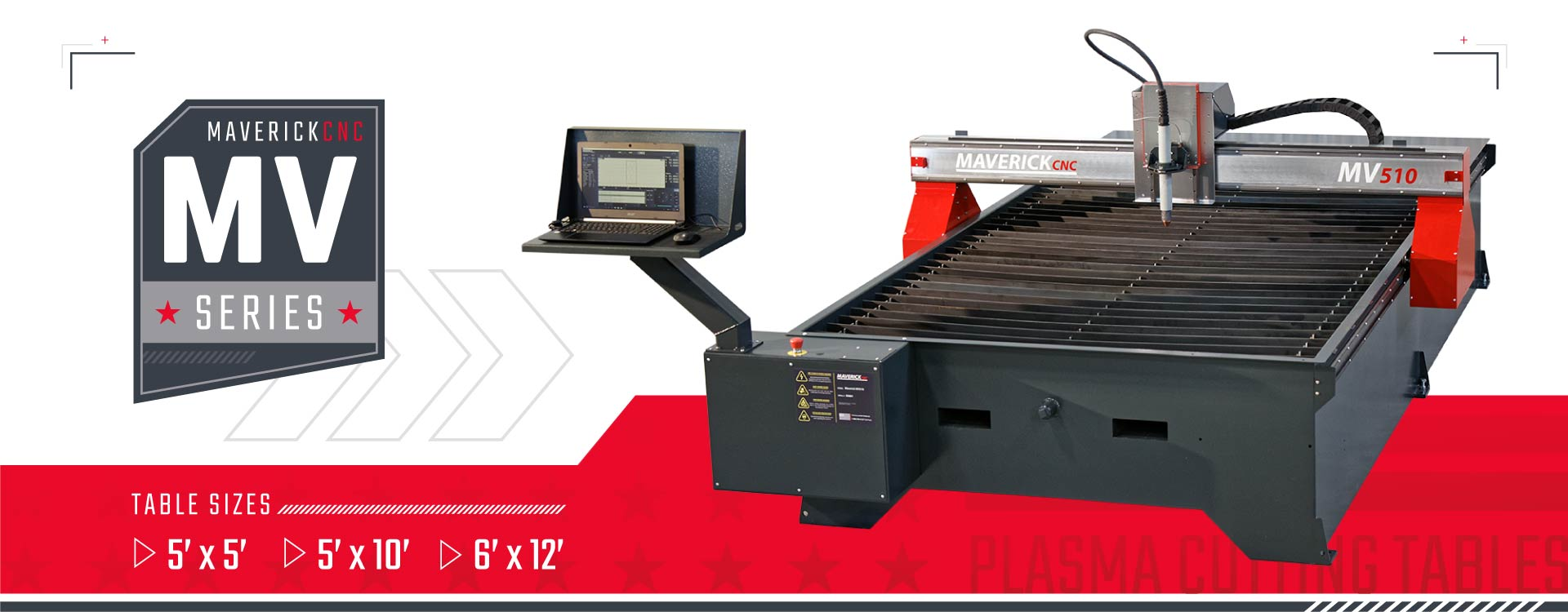 MaverickCNC MV Series Plasma Cutting Tables