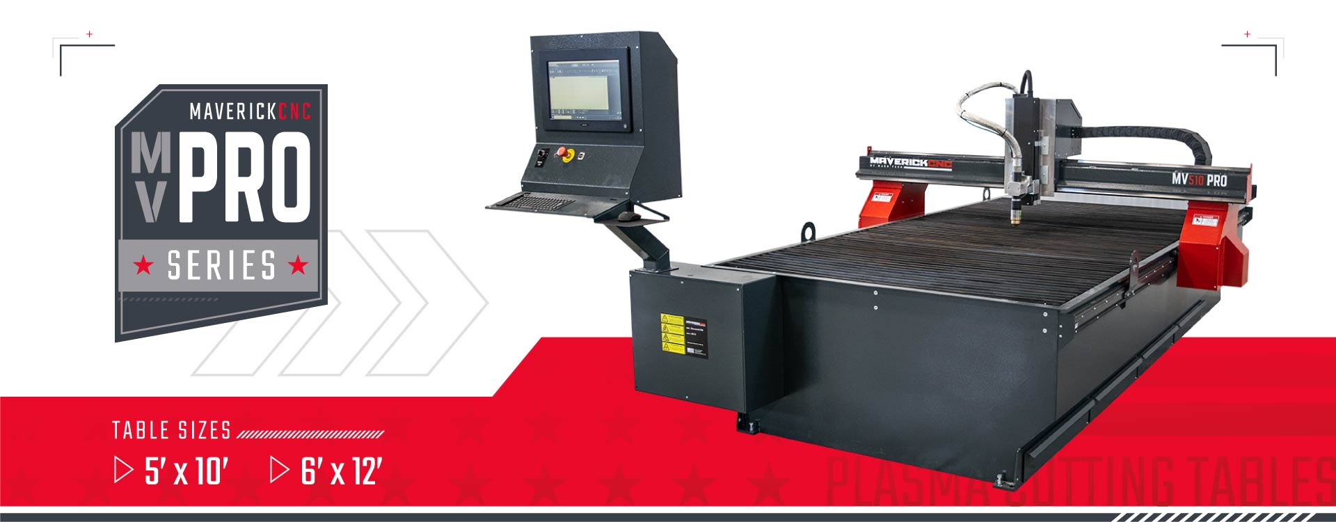 MaverickCNC MVPRO Plasma Cutting Tables