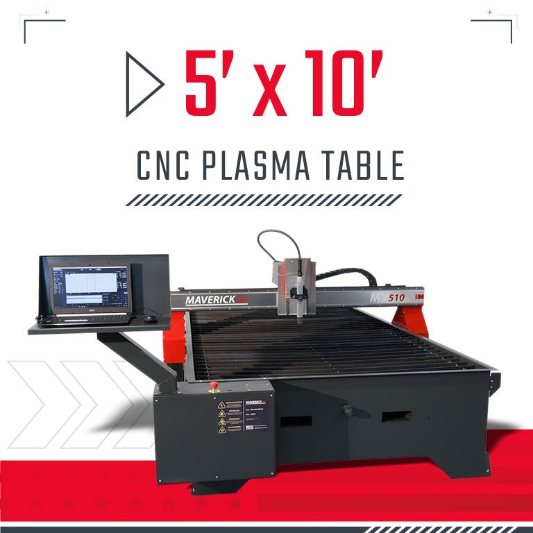 5x10 CNC Plasma Table