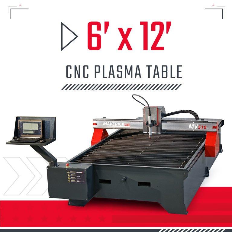 6x12 CNC Plasma Table
