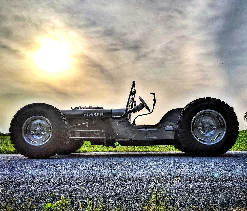 The Maverick Jeep